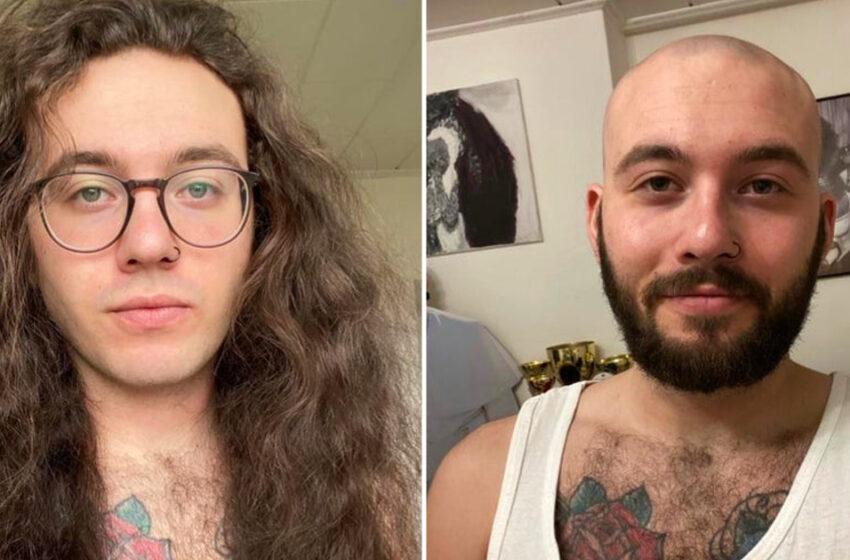 15 bărbați care au renunțat la păr lung și arată complet diferit