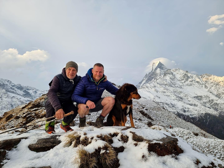 """La o vârstă onorabilă de peste 70 de ani,  Vlad Bercu și-a atins """"Everestul"""""""