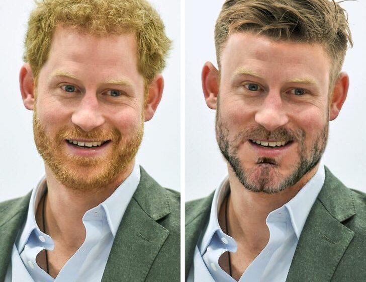 (FOTO) Cum ar arăta membrii familiei regale, conform standardelor moderne de frumusețe