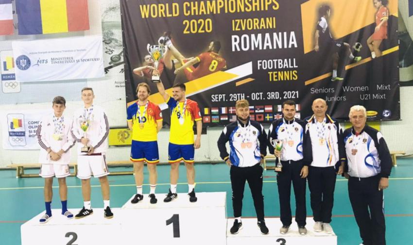 Campionatul Mondial de fotbal-tenis: Tricolorii au cucerit patru medalii de bronz