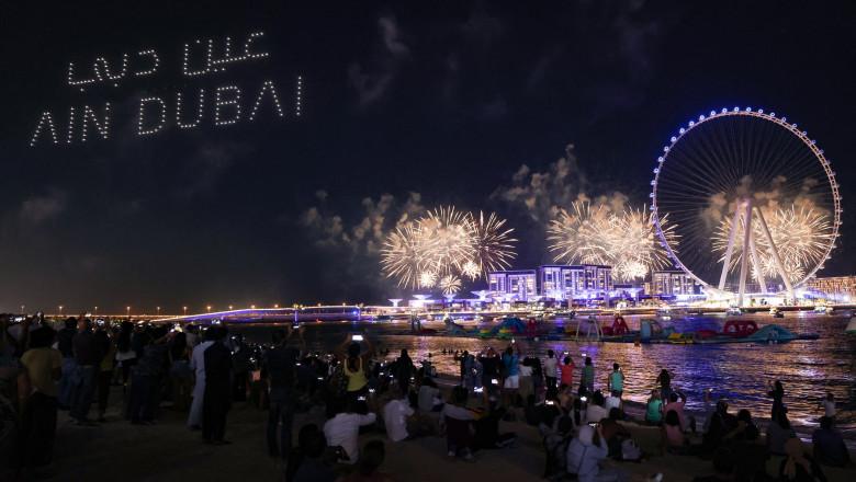 (VIDEO) Cea mai mare roată panoramică din lume a fost inaugurată în Dubai