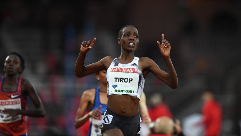Agnes Jebet Tirop, dublă medaliată cu bronz la Mondiale și deținătoarea recordului la 10.000 de metri, a fost găsită moartă