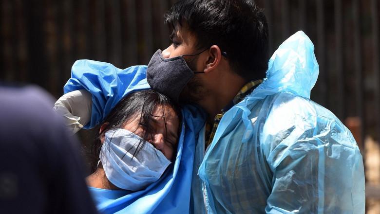 Un nou record mondial! India înregistrează peste 400.000 cazuri de Covid în 24 de ore