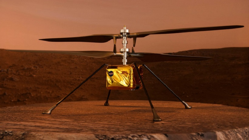 """Primul zbor al omenirii pe o altă planetă: Mini-elicopterul NASA de pe Marte ar putea """"decola"""" azi în premieră"""