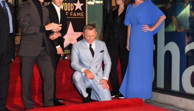 Daniel Craig are o stea pe bulevardul Walk of Fame din Hollywood