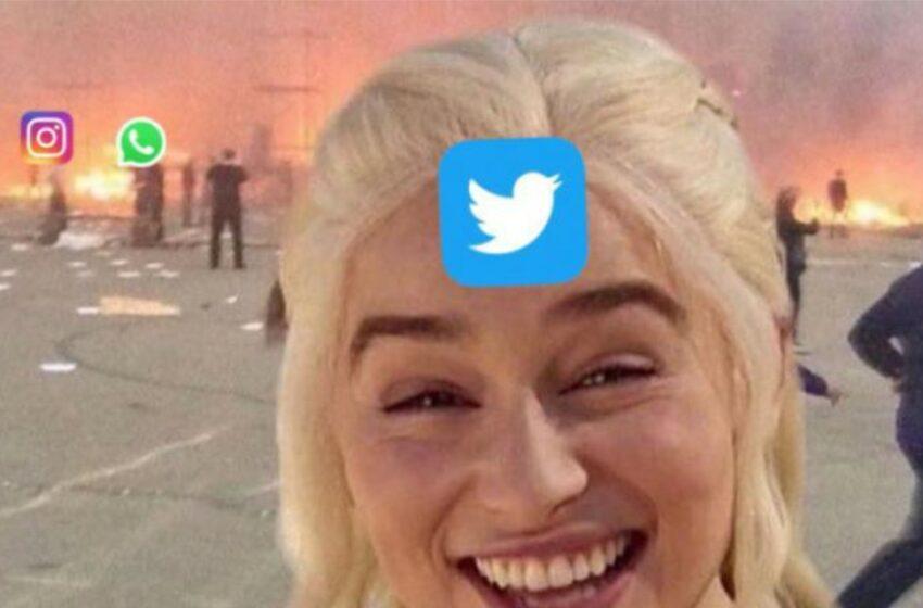 """(foto/video) Meme-uri amuzante, după ce au picat Facebook, Instagram, Messenger și WhatsApp. Twitter: """"Salut, literalmente tuturor!"""""""
