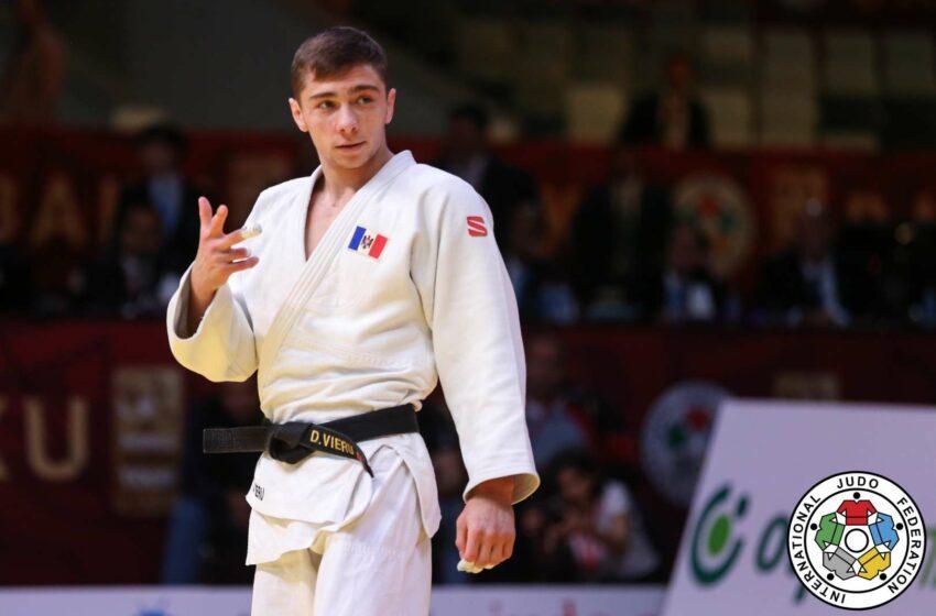 Judocanul Denis Vieru a ocupat locul 5 la Grand Slam-ul de la Paris