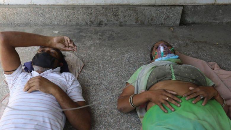 India: Oamenii mor din lipsă de oxigen
