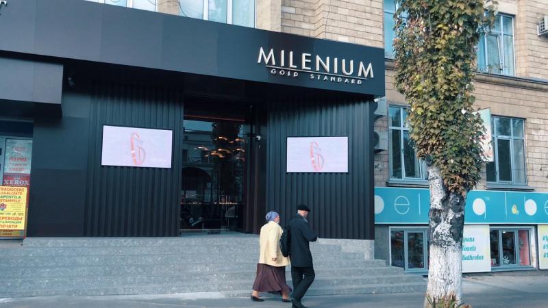 (VIDEO/FOTO) Primul magazin oficial al uzinei de bijuterii Milenium s-a deschis la Chișinău