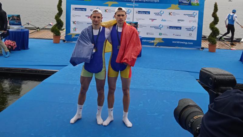 Bronz pentru R. Moldova la Europenele de canotaj