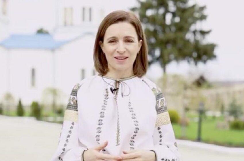 """Mesajul președintei Maia Sandu de Paști: """"E o zi plină de evlavie și bucurie"""""""