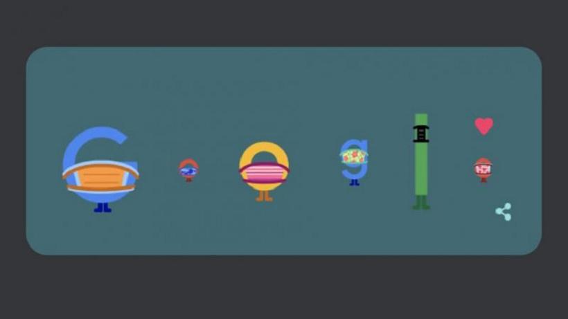 """Măsuri pentru a preveni Covid-19, promovate de Google într-o manieră creativă: """"Purtați mască. Salvați vieți"""""""