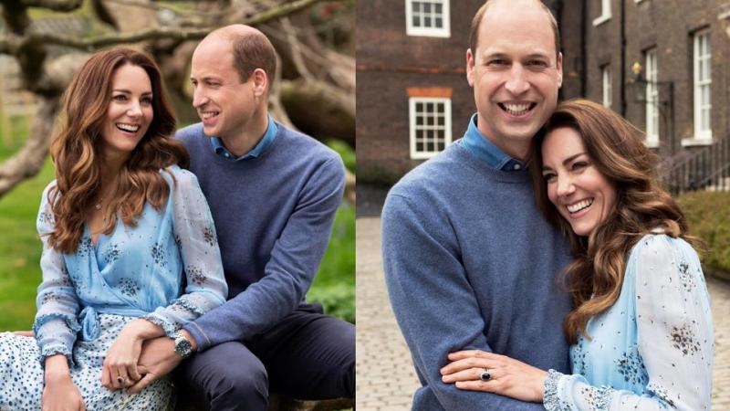 Marea Britanie: Două fotografii noi cu William şi Kate, date publicităţii cu prilejul aniversării a 10 ani de căsătorie