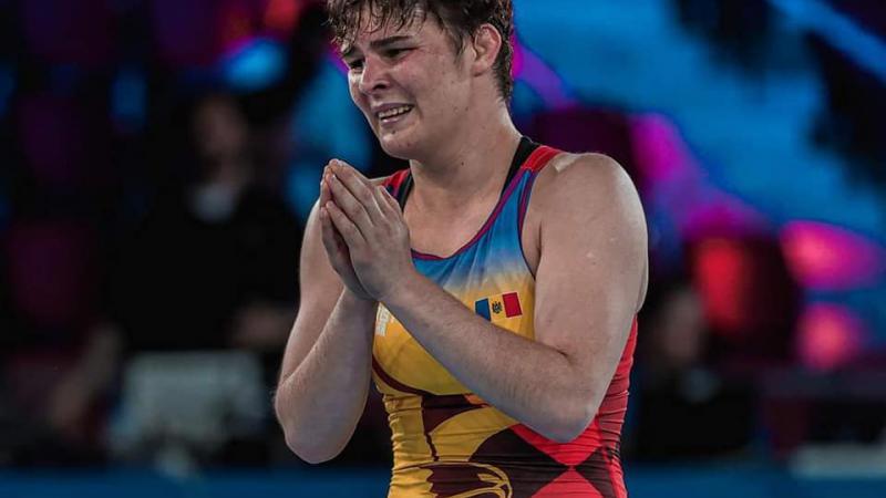 Luptătoarea Iulia Leorda a devenit vicecampioană mondială