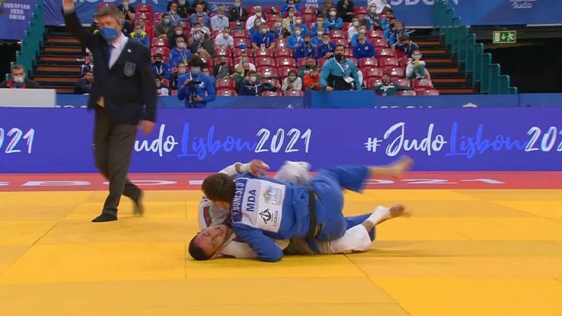 Judocanul Vadim Bunescu a ocupat locul 7 la Europene