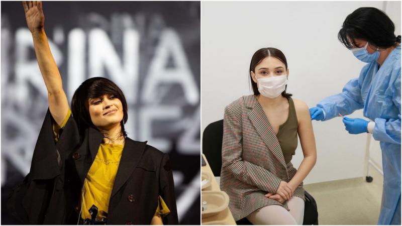 """Cu dor de scenă, artista Irina Rimes s-a vaccinat împotriva la Covid: """"Nu mai pot fără concerte"""""""