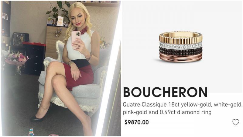 (foto) Marina Tauber, surprinsă cu un inel de aproape 10 mii de dolari pe mână. Reacția deputatei