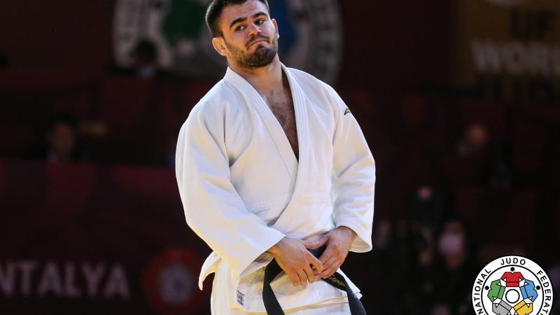 Judocanul Victor Sterpu a cucerit bronzul la Grand Slam-ul din Antalya