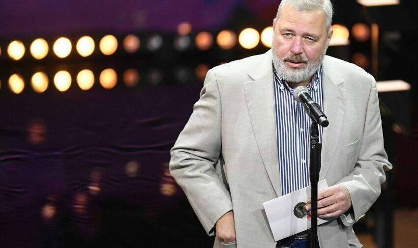 Jurnalistul rus, premiat cu Nobel pentru Pace, și-a dedicat trofeul jurnaliștilor morți la datorie