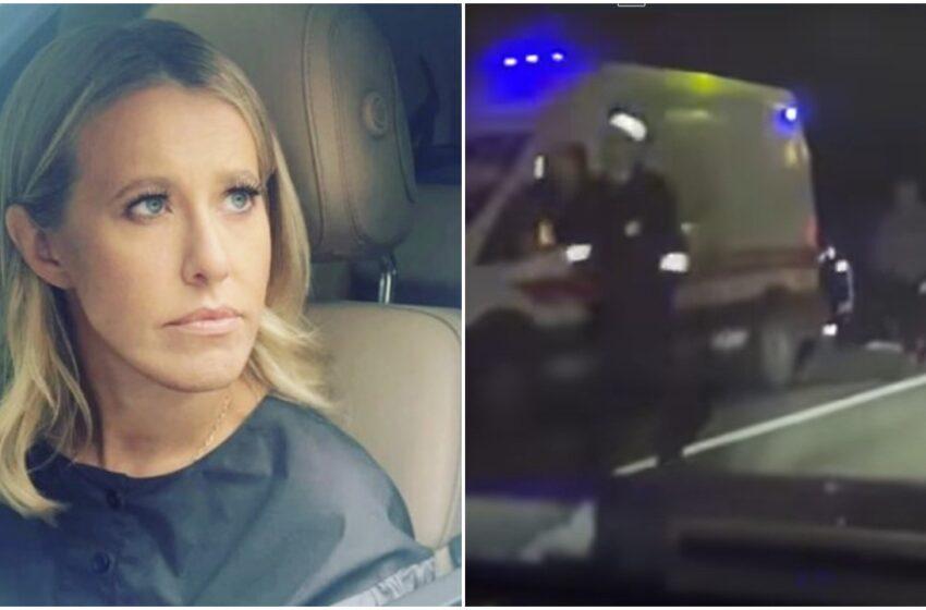 """(video) Ksenia Sobciak, implicată într-un grav accident: """"Sunt șocată și îngrozită că au murit oameni"""""""