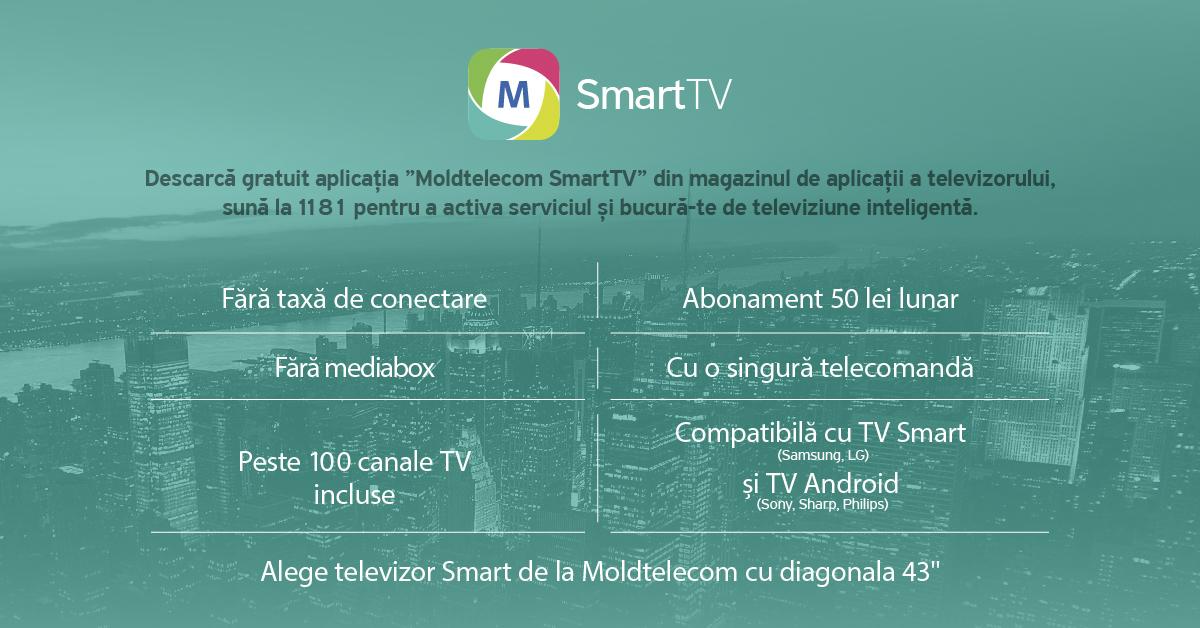 Posibilităţi noi în televiziune cu serviciul Moldtelecom