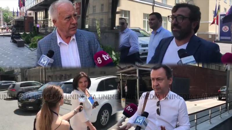 Атмосфера в штабе ДПМ: Константин Цуцу, Моника Бабук и другие лидеры уезжали в спешке