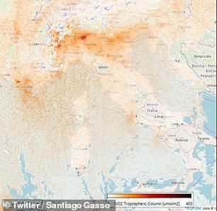 Imagini Din Satelit Care Arată Cum A Scăzut Nivelul De Poluare In